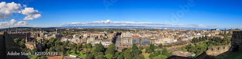 Obraz na płótnie Edinburgh City Skyline