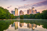 Atlanta, Georgia, USA Midtown Skyline - 213055981