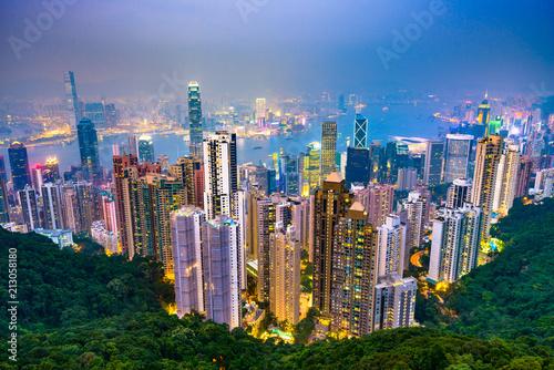 Hong Kong, China Skyline