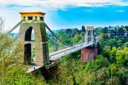 Bridge in Bristol, England - 213060961