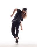Young beautiful dancer posing in the studio - 213069999