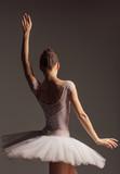 Young beautiful ballerina is posing in studio - 213072738