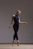 Young beautiful ballerina is posing in studio - 213073727