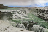 Dramatic view of Gullfoss waterfall, Iceland