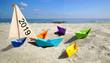 Leinwanddruck Bild - Urlaub buchen - verreisen