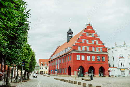 Foto Murales Rathaus der Stadt Greifswald