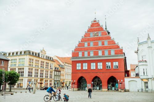 Sticker Rathaus der Stadt Greifswald