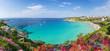 Leinwanddruck Bild - Rena Bianca beach, north Sardinia island, Italy