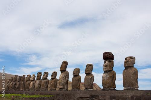 Moai Rapa Nui Isla de Pascua - 213084579
