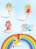 A Set of Colourful Fairy - 213085541