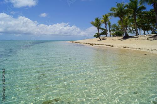 Fotobehang Tropical strand Fiji