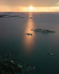 Sunset over Gothenburg
