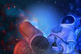 astronaut exploring arround - 213116338