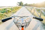 Bicicletta con cestello