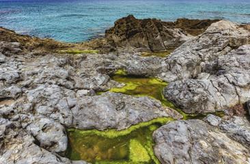Sicilian Coast at Sicily, Italy near Cefalù © andiz275