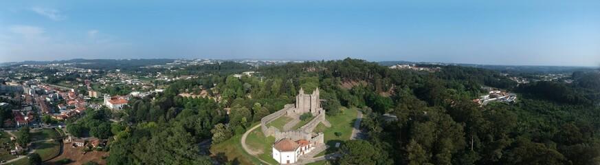 Panoramic shot of Santa Maria da Feira © o_laparoto
