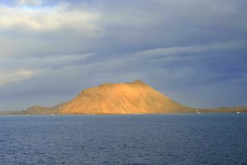 Island Lobos closed to Fuerteventura Spain © Elena Krivorotova