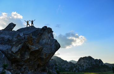 mystical mountains, unusual spaces and discovery success © crazymedia