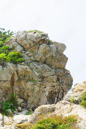 室戸岬の岩場