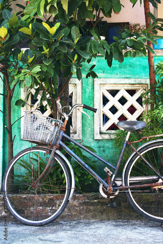 Aluminium Fiets Old bicycle in vietnam, vintage style