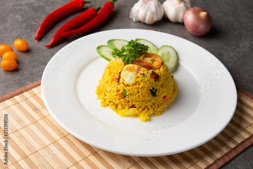 Wall mural pineapple fried rice