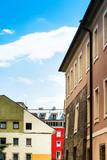 Antique building view in Old Town Innsbruck, Austria - 213201124