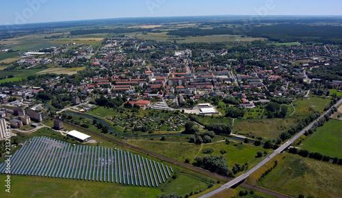 Stadt Pasewalk, Blick nach Osten - 213203327