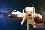 astronaut in space - 213209536