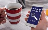 Idea search concept on a smartphone - 213214178