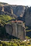 Orthodox Monastery of Rousanou in Meteora, Thessaly, Greece - 213217584