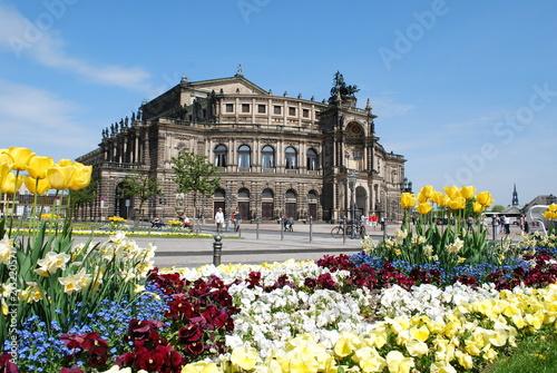 Sticker Semperoper in Dresden