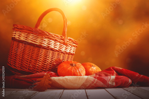 table background and autumn time.  - 213242159