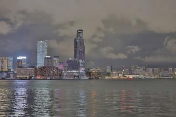 a modern HK skyline near the Convention Center © alan