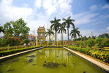 Garden with an arch in Asia - 213246100