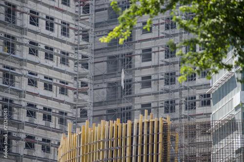 Foto Murales Construction of the Big Building