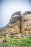 Stone boulders. Tarbagatay - 213264569