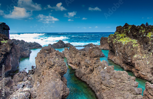 Foto Murales Blue lagoon
