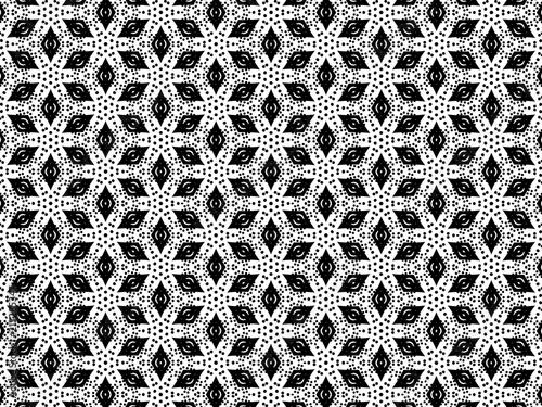 Black and white ornament. - 213285347
