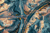 Crossroad from above - 213291153