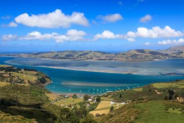 Otago peninsula, Dunedin, New Zealand © korkeakoski