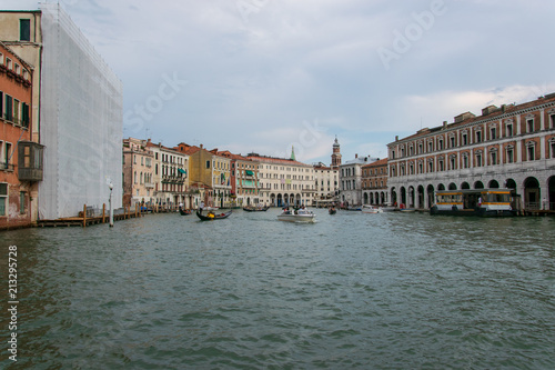 View of canal grande in venice italy  - 213295728