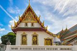 Wat Phra Kaew the Buddhist Temple complex in Bangkok, Thailand. - 213303936