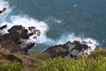 Paysage côtier à Hawaï