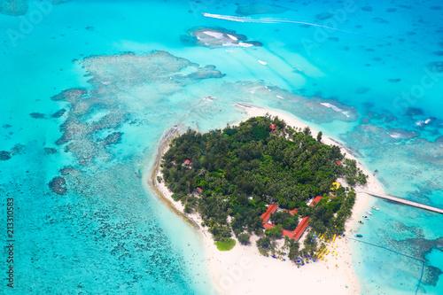 Fotobehang Tropical strand Saipan