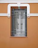 Athens Greece, vintage house window frame - 213329991