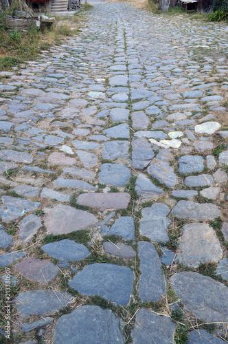 Fotobehang Stenen Scenic Roads