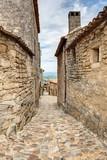 Vue de Lacoste en Luberon - Vaucluse - Provence - 213360312