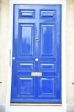 Porte bleue - 213376598