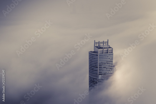 Foto Murales The Clouds And Towers