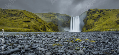 Skogafoss, south of Iceland © forcdan